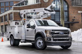 Ford Adds F-600 to Super Duty Chassis Cab Lineup