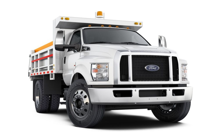 The 2018 Ford F-650  - Photo courtesy of Ford