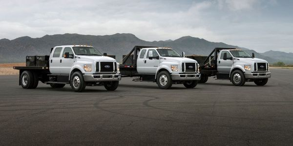 Sales of large Ford F-650/F-750 trucks expanded 105% in the first half of 2021.