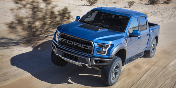 The New Trail Control system on the 2019 Ford F-150 Raptor is like cruise control for low-speed,...