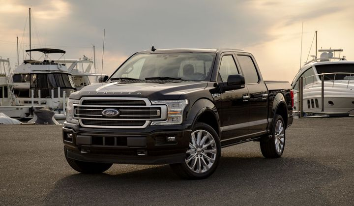 The F-150 Limited is one model available in 2019.