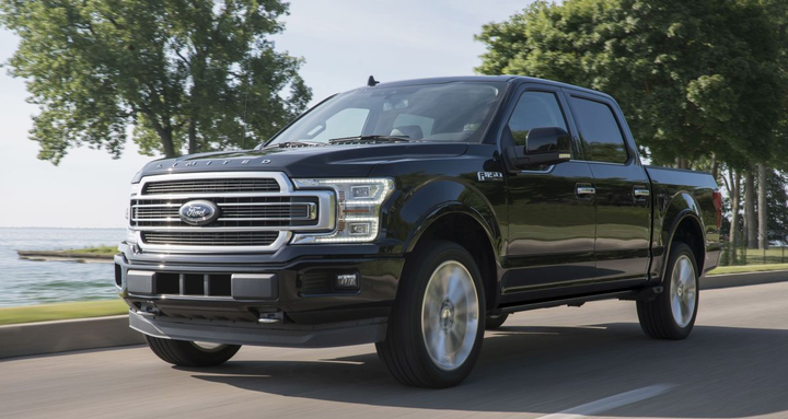 The top crash test performance of 2019 Ford F-150 – including best possible rating in passenger-side small overlap front crash test – is enabled by high-strength steel in the frame plus high-strength, military-grade, aluminum alloy in the body and smart engineering.  - Photo courtest of Ford