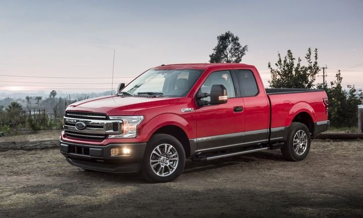Retail pickup sales were stronger in October than a year ago. - Photo courtesy of Ford.