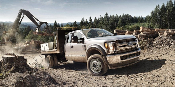 Exclusively for California and the markets requiring CARB certification, new F-250 and F-350...