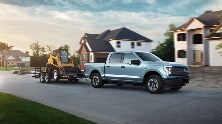 The2022 F-150 LightningPro is backed by a nationwide network offering EV-certified fleet sales, service and financing, according to Ford. - Photo: Ford
