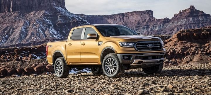 When the all-new 2019 Ford Ranger goes on sale early next year, customers will be able to get innovative towing technology not available in any other midsize pickup.  - Photo courtesy of Ford Motor Co.