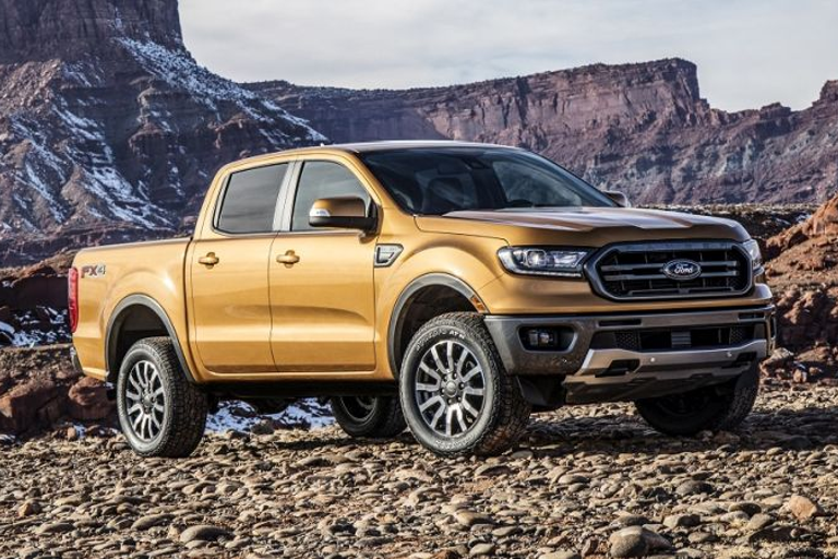 The 2019 Ford Ranger will go on sale early next year.