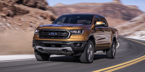 Ford Ranger's Highway MPG Reaches 26