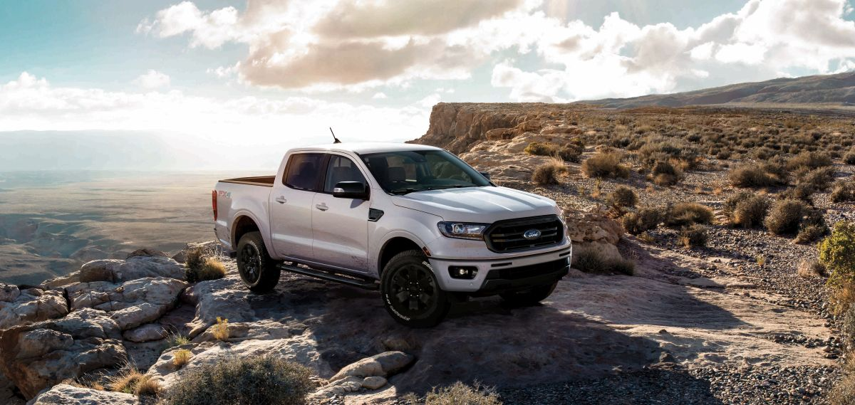 Ford Ranger Gets Black Appearance Package
