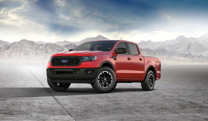 Ranger customers love to make their truck their own, with more than 75% leaving dealerships with an appearance package in 2020. - Photo: Ford