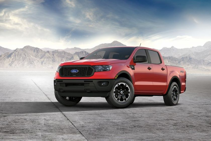 2021 Ford Ranger XL Adds STX Special Edition