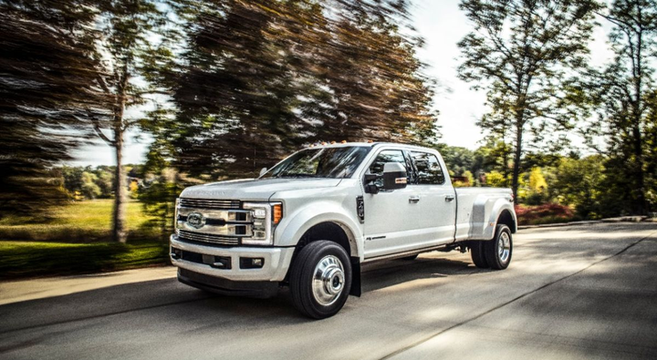 The 2018 Ford Super Duty is one of the vehicles impacted by Ford's recent safety recall.  - Photo: Ford