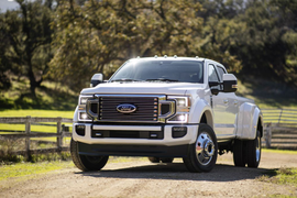 Ford Super Duty Claims Best Towing, Payload at State Fair of Texas