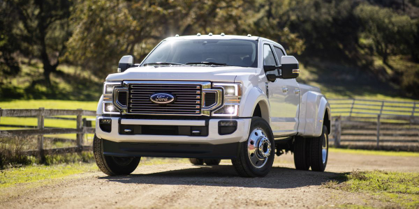 For 2020, maximum towing capacity increases across all Super Duty pickup series – F-250, F-350,...
