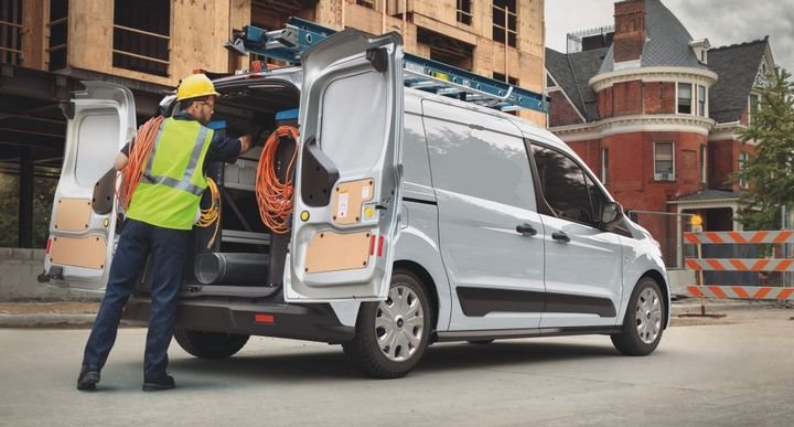 The 2021-MY Ford Transit Connect is aAvailable in cargo van and passenger wagon and with two wheelbase choices (cargo van only) and all-day comfort seats accommodating up to seven passengers, plus three trim levels – XL, XLT and Titanium. - Photo: Ford Motor Co.