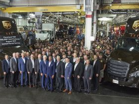 750,000th Vehicle Built at Daimler Trucks Facility