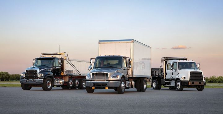 The CHEC tool is currently available for Freightliner vocational truck models. - Photo: DTNA