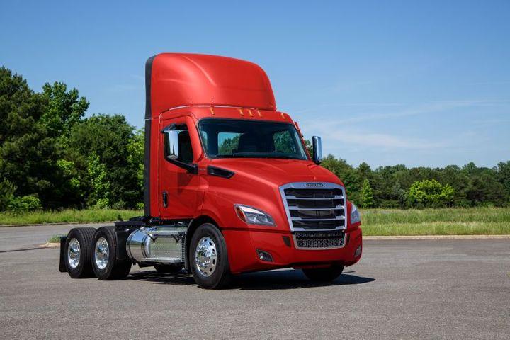 - Photo: Freightliner