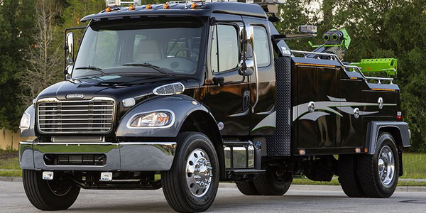 Daimler Trucks N.A. is recalling more than 9,000 of its Freightliner M2 medium-duty truks for a...