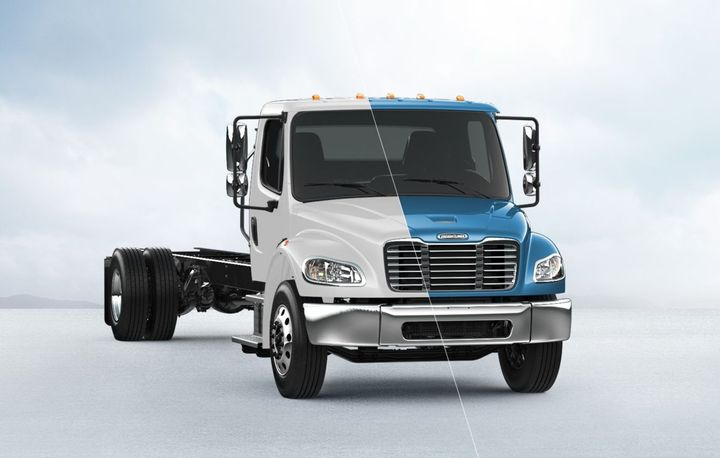 The easy-to-upfit M2 106 supports a wide range of bodies and chassis-mounted equipment and is designed for maximum reliability and uptime - Photo: Daimler