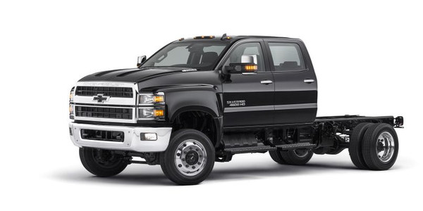 The Chevrolet Silverado lineup is designed to be easy to service, with a clamshell hood and a...