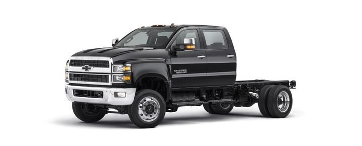 The Chevrolet Silverado lineup is designed to be easy to service, with a clamshell hood and a wheel cut of up to 50 degrees that can give technicians better engine access than trucks with conventional hoods.  - Photo courtesy of General Motors