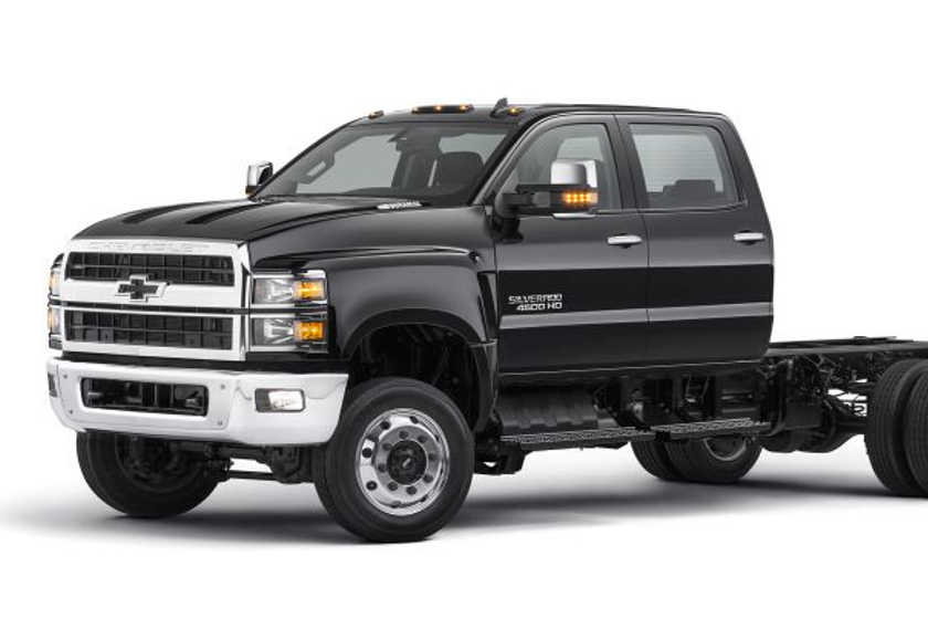Chevrolet Silverado Chassis Cabs Start at $48,465