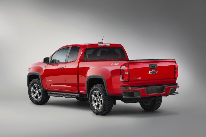 The 2015-MY Chevrolet Colorado is among the vehicles recalled for potential power steering issues.