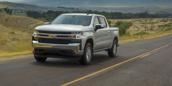 The 2019 Chevrolet Silverado 1500 received updated software for the Electronic Brake Control...