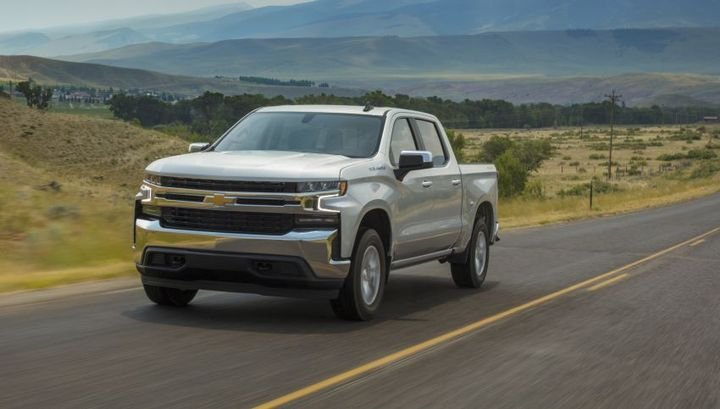 The 2019 Chevrolet Silverado 1500 received updated software for the Electronic Brake Control Module (EBCM). This software has an error, and as a result, the vehicle's electronic brake assist may be disabled. - Photo: General Motors