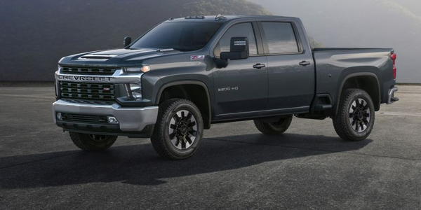 Chevrolet is offering its 2020 Silverado HD 2500/3500 pickups with a bold, sculpted form that...