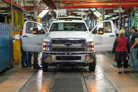 First Medium-Duty Silverado Trucks Ship to Dealers