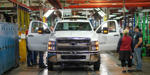The Silverado medium-duty chassis cab is just one of three all-new Silverado models Chevrolet is...