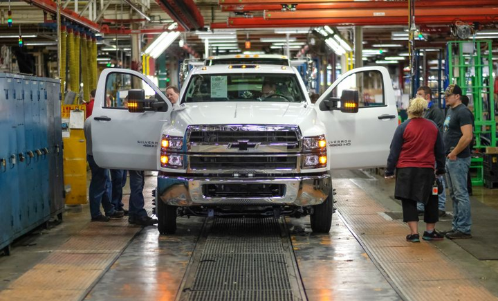 The Silverado medium-duty chassis cab is just one of three all-new Silverado models Chevrolet is introducing within just 18 months, including theSilverado 1500,Silverado 2500HD, and 3500HD.  - Photo courtesy of General Motors
