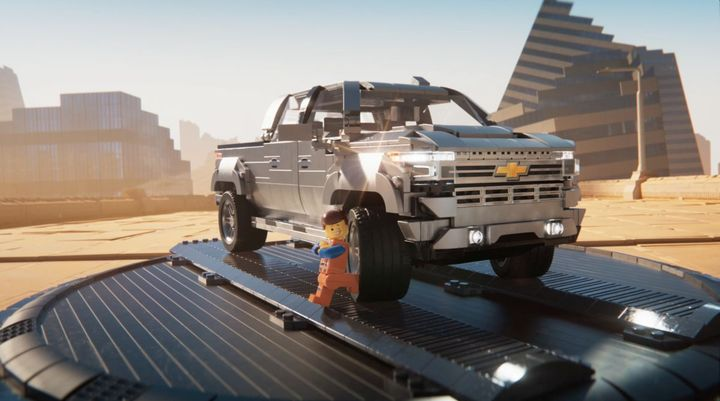 The 2019 Chevrolet Silverado 1500 High Country has gone lego. 