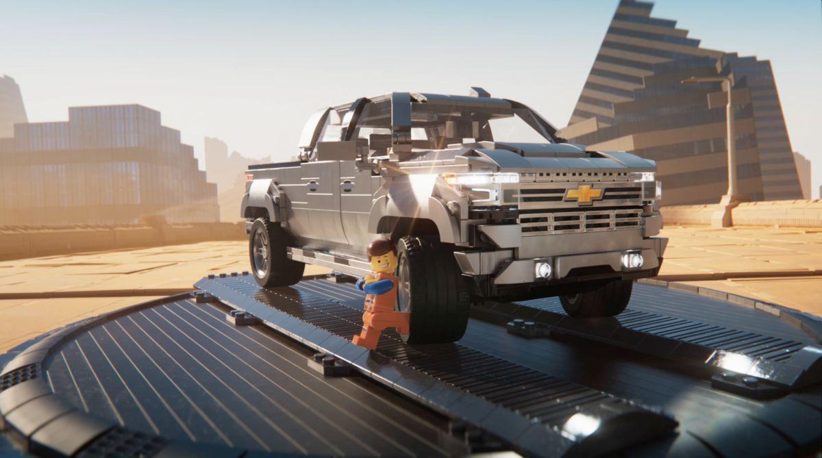Chevrolet Silverado Gets Lego Movie Model