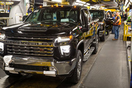 GM Invests $150M in Flint Truck Assembly Plant