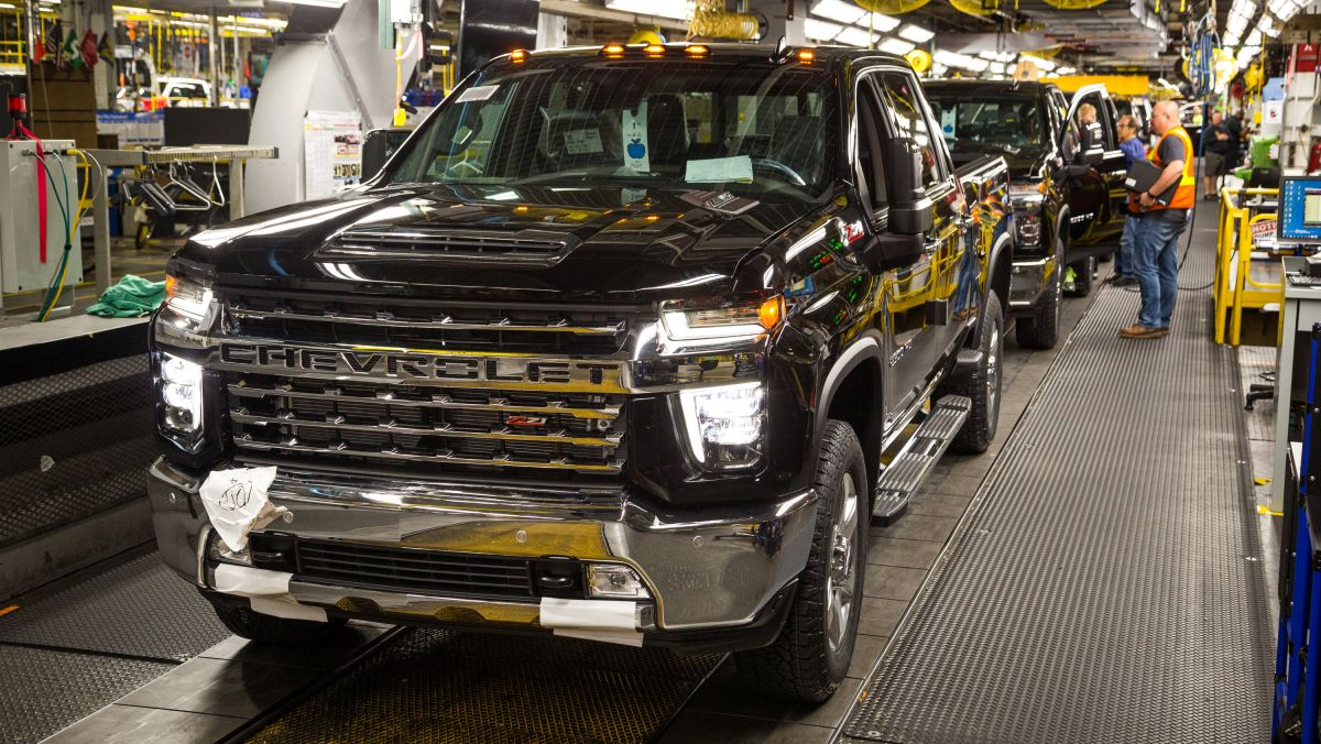 GM Invests $150M in Flint Truck Assembly Plant - Equipment ...