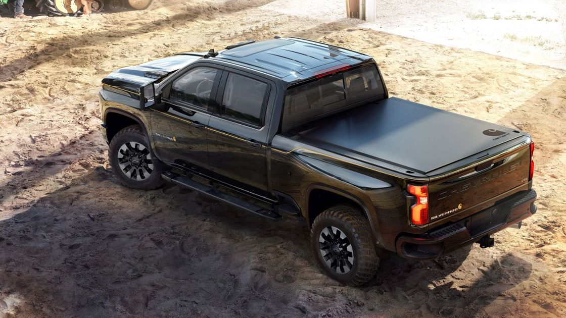 2021 silverado chevrolet carhartt edition truck work hd motors general gm vehicles special vehicle