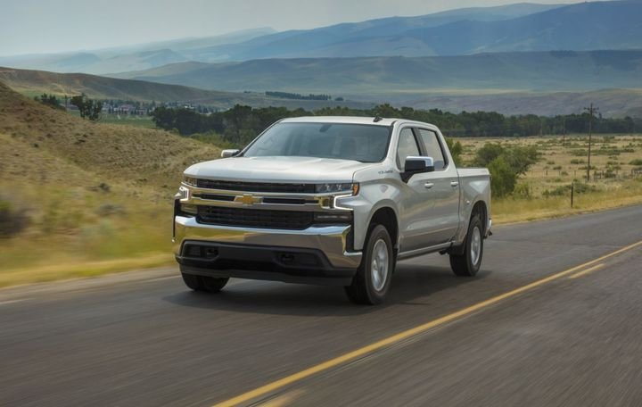 2020 model-year Chevrolet Silverado - Photo: Chevrolet