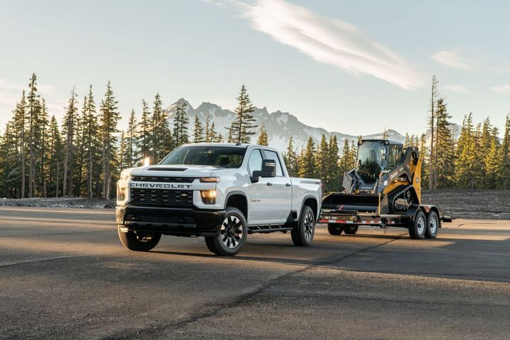 Among the vehicles potentially impacted by the recall are 2020-MY Chevrolet Silverado 2500 trucks.  -