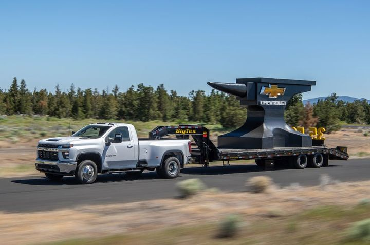 The 2021 Chevrolet Silverado 3500 HD is a powerhouse of a truck with sales of Silverado HD models up 42% year-over-year. - Photo: General Motors/Chevrolet