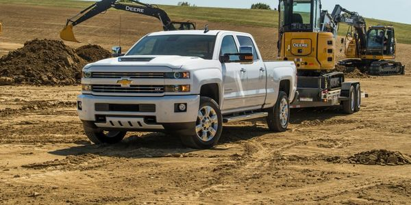 The 2018-MY Chevrolet Silverado 2500 with a Duramax diesel 6.6 liter engine and an optional...