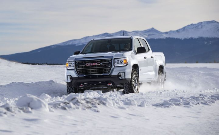 2021 GMC Canyon Introduces AT4 Model - Vehicle Research ...