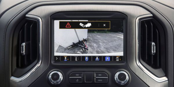 The 2021 GMC Sierra 1500 and Sierra Heavy Duty feature additional innovative trailering tech...