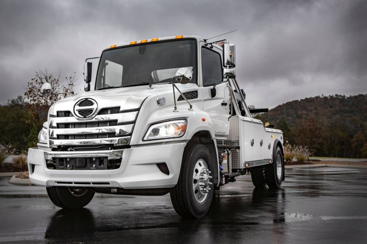 The Hino XL7 and XL8 models are powered by Hino's legendary A09 turbo diesel 8.9L inline 6-cylinder engine boasting a B10 life of 1,000,00  - Photo courtesy of Hino Trucks