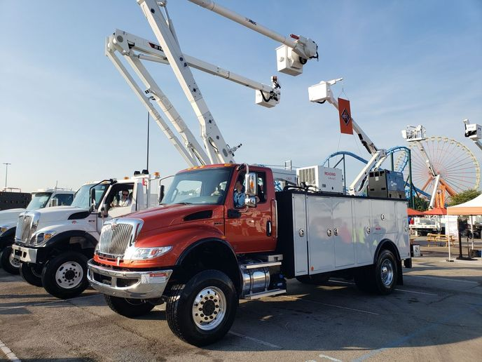 The International HV with Cummins B6.7 diesel engines was among the units recalled for fuel heater issues.  - Photo: Navistar