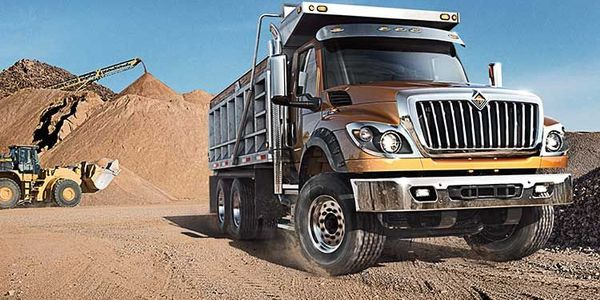 The International HV Series is one of the trucks being recalled for a potential lack of axle...