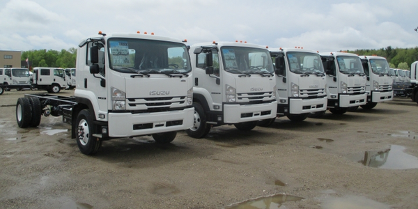 More than 2,000 Isuzu FTR trucks are expected to leave the production facility featuring the...