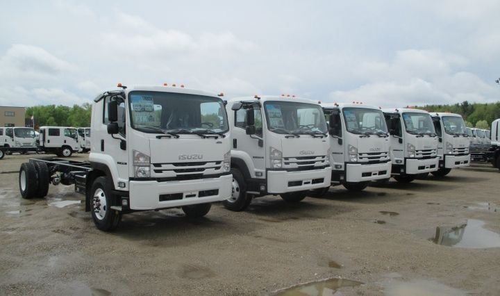 The current Isuzu lineup includes Class 3 through Class 5 N-Series trucks and the Class 6 FTR (pictured).